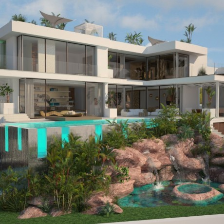 New modern villa for sale in Vista Alegre, Ibiza
