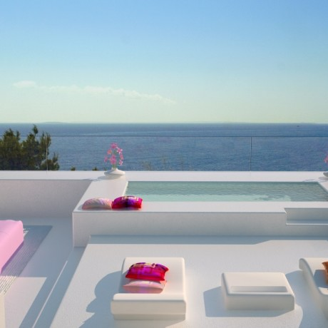 A new modern development for sale in Santa Eularia, Ibiza