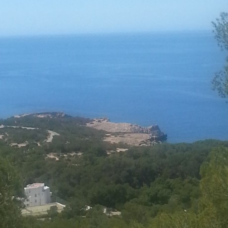 Large plot for sale with sea views in Calo Den Real, Ibiza