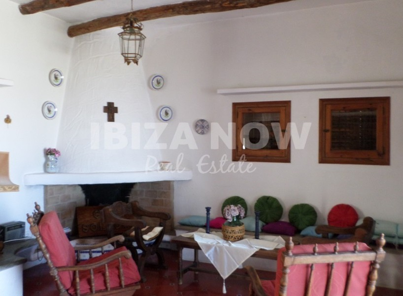 English Authentic Spanish House For Sale Close To Portinax Ibiza