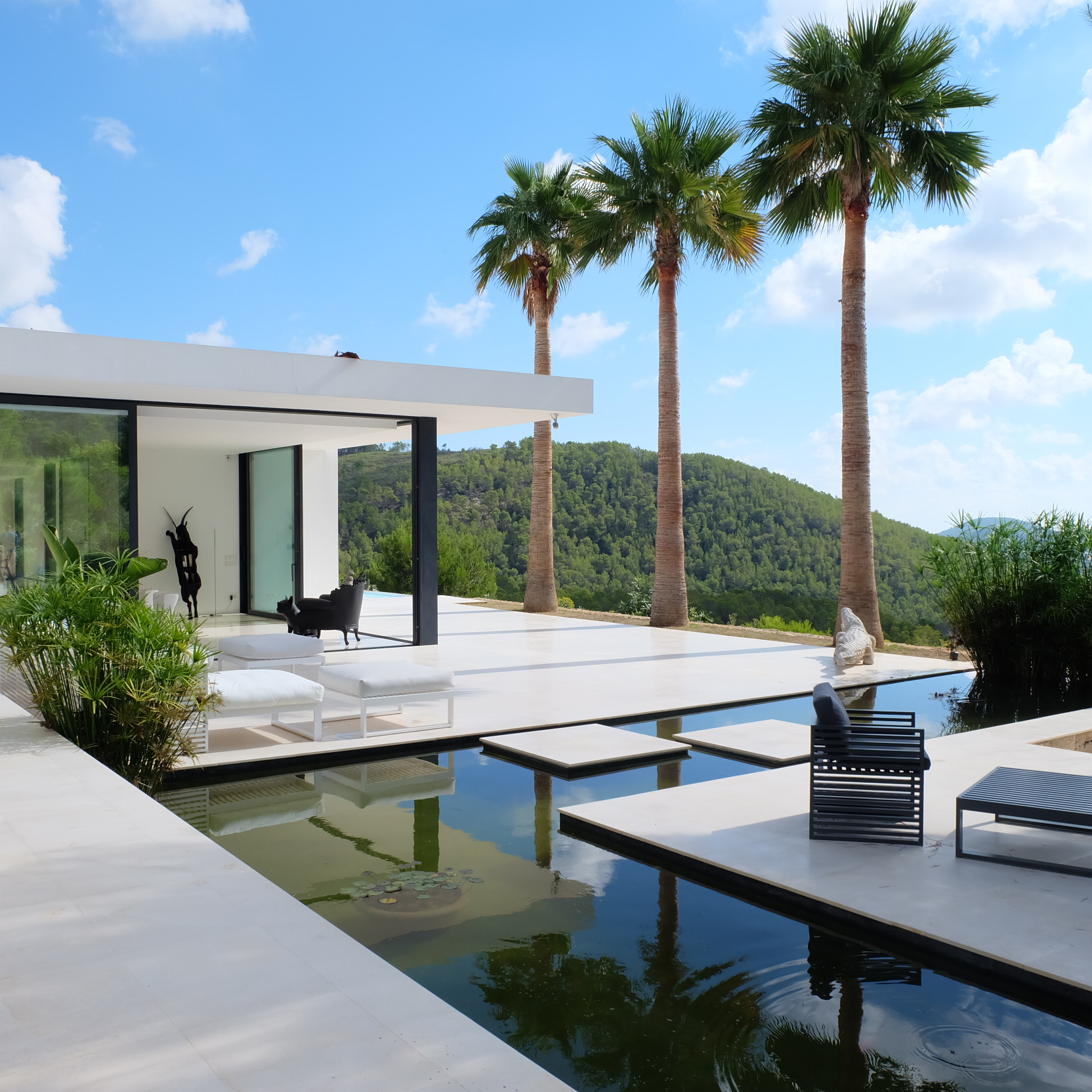 Beautiful modern villa for sale in the north of ibiza for Beautiful modern homes for sale