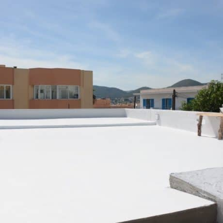 New build townhouse for sale in Los Molinos, Ibiza.