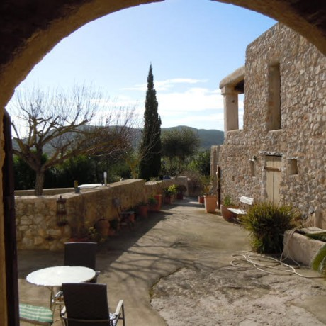 Authentic Ibiza finca with 6 bedrooms for sale in Sant Mateu, Ibiza