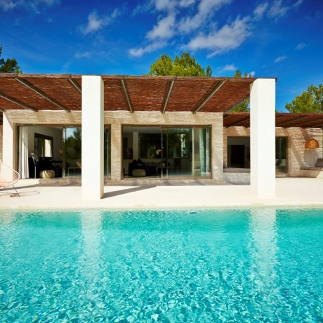 Mediterranean country style 5 bedroom villa for sale in Es Cubells, Ibiza
