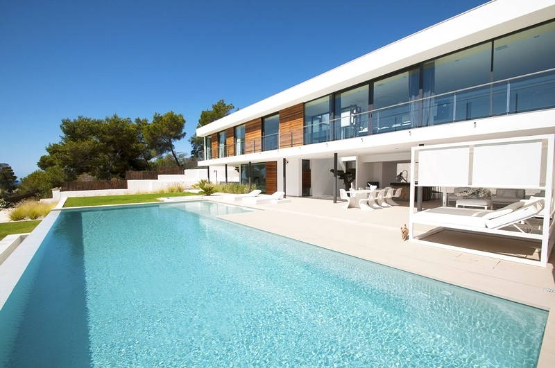 Wonderful villa for sale in private urbanization in San Jose, Ibiza
