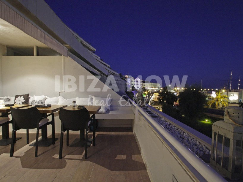 Apartment located on the first line in Marina Botafoc, Ibiza