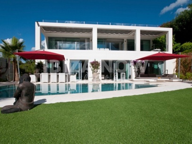 Modern villa for sale in Can Pep Simo, Talamanca, Ibiza