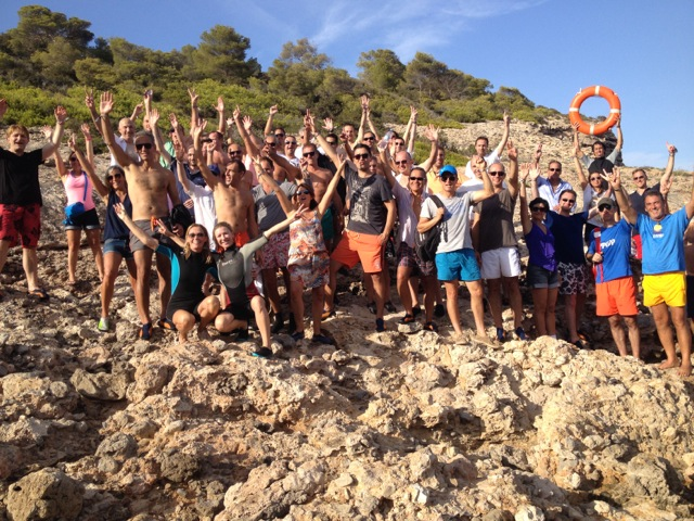 Cliff diving in Ibiza is a new concept of Rockid Ibiza