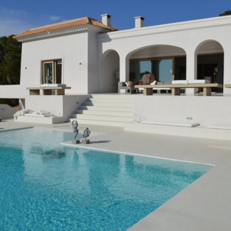 Luxury villa for sale with sea views in Ibiza