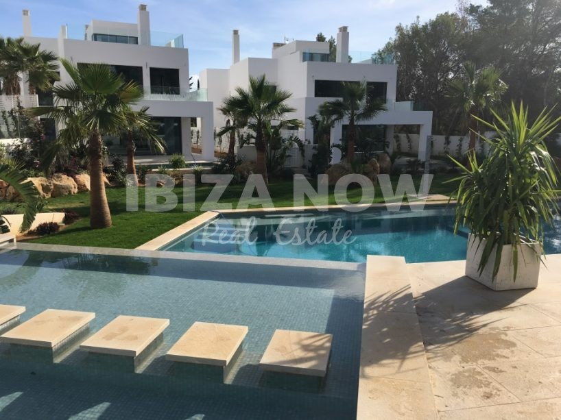 New build modern villas for sale in Cala Llenya, Ibiza