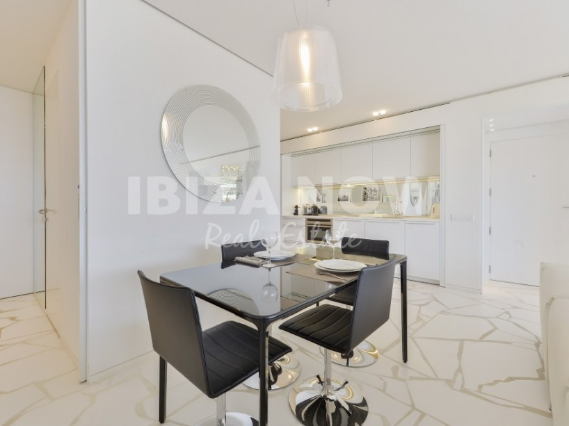 Modern front line apartment for sale in Marina Botafoch, Ibiza