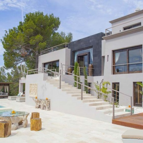 Luxury villa for sale in the North of Ibiza.