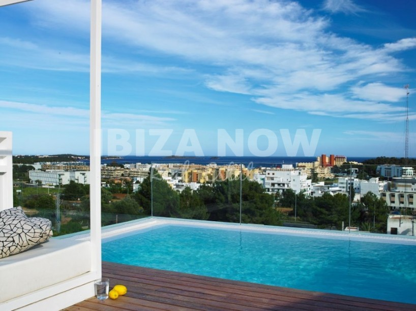 Nice modern 5 bedroom house for sale in Santa Eularia, Ibiza.