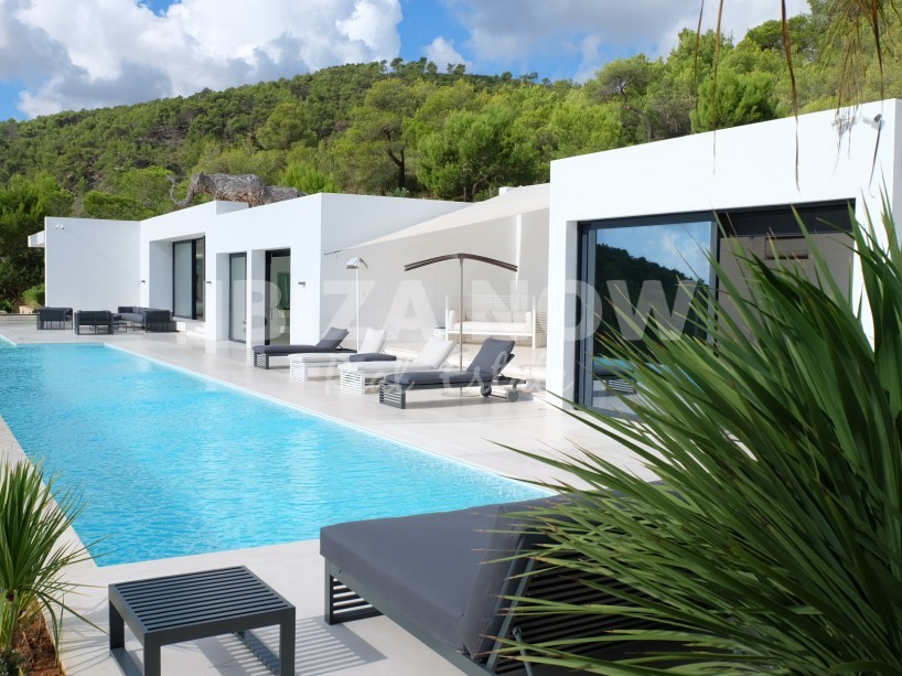 Beautiful modern villa for sale in the North of Ibiza