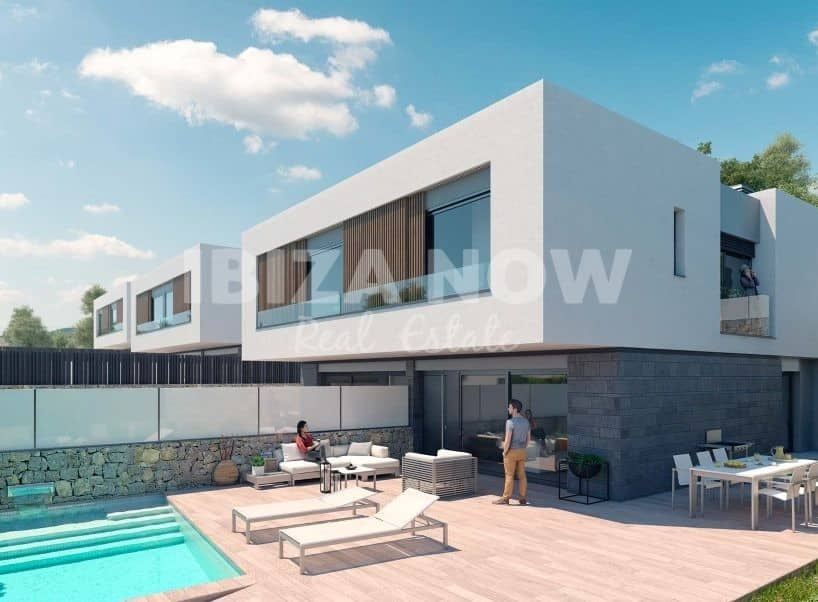 New build luxury villas for sale in Talamanca, Ibiza