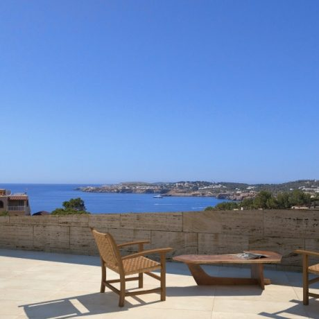 Plots for sale with a license in Cala Moli, Ibiza.
