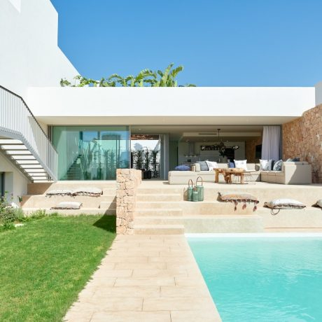Beautiful new built villas for sale in Cala Conta, Ibiza