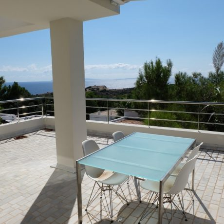 Modern house for sale in Talamanca, Ibiza.