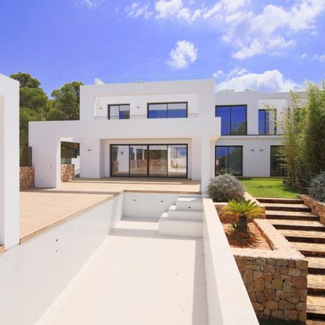 Contemporary villa for sale in Calo Den Real, Ibiza