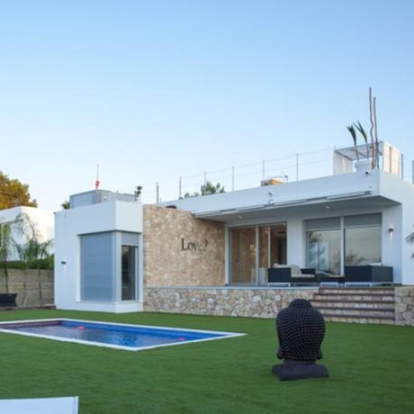 Modern villa for sale close to Cala Bassa, Ibiza.