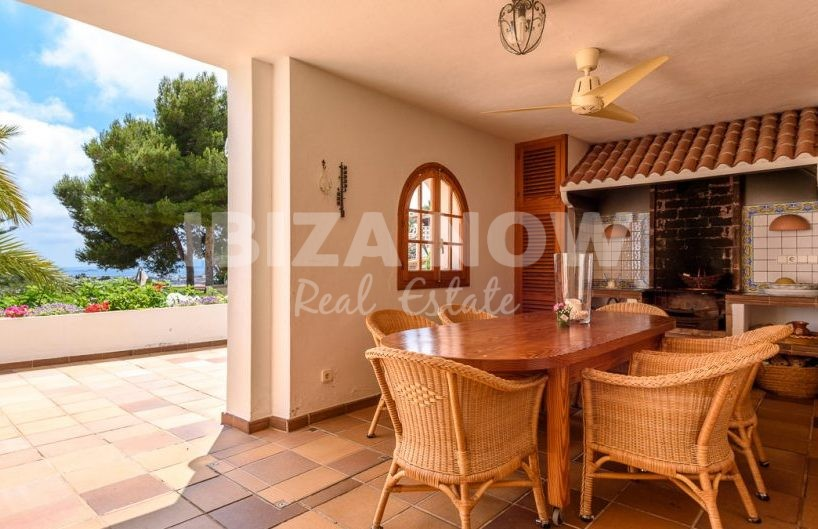 Large villa for sale close to Talamanca beach, Ibiza.