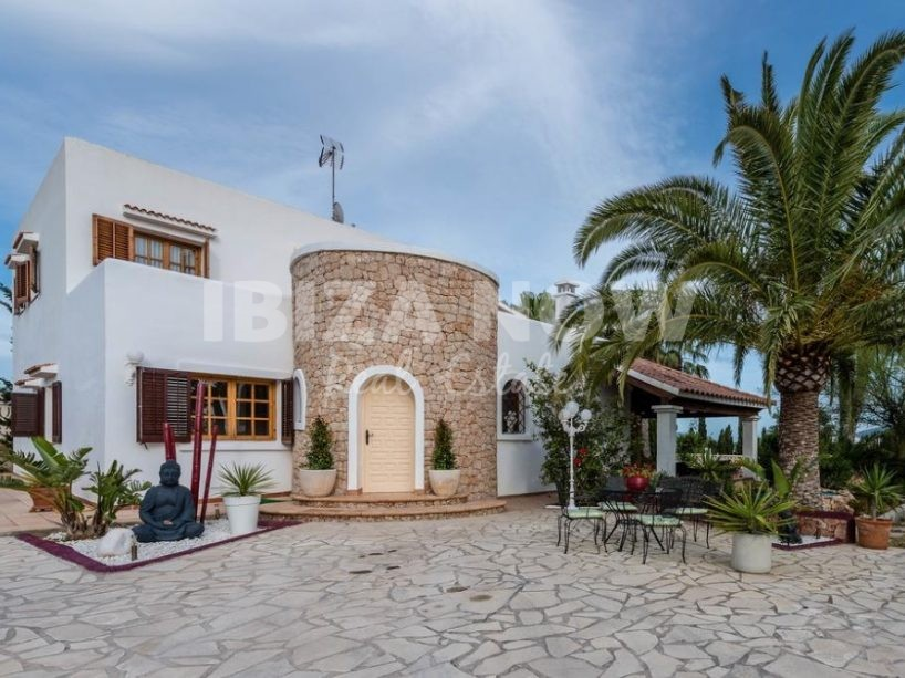 Large villa for sale in Sa Caleta, Ibiza.