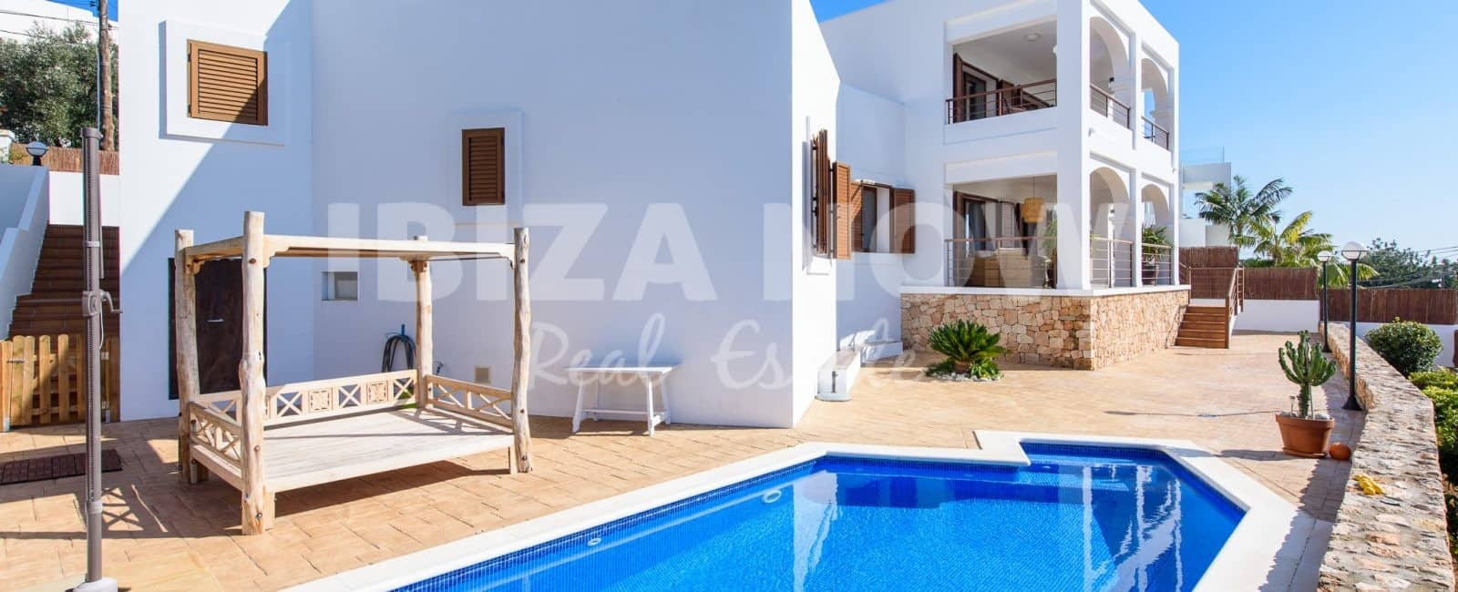 Four bedroom villa with pool for sale in Talamanca, Ibiza
