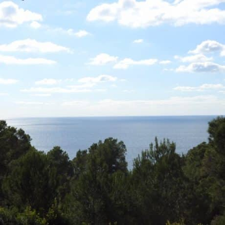 Plot with a license for sale in Vista Alegre, Ibiza.