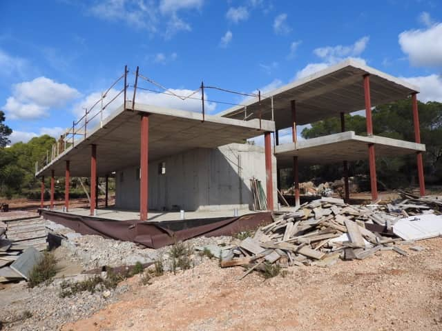 Plot with a license for sale in Vista Alegre, Ibiza