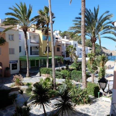 Cala Vadella 3 bedroom duplex apartment for sale in Ibiza
