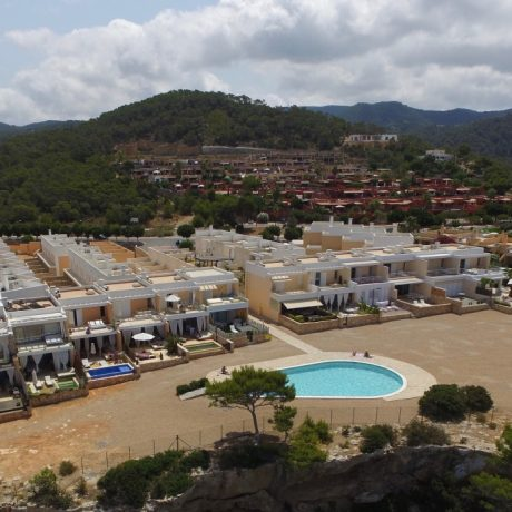 Nice 3 bedroom townhouse for sale in Cala Tarida, Ibiza.