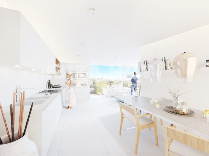 Modern new to build apartments for sale in Portinax, Ibiza