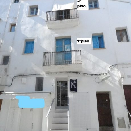 Unique Three-story building for sale in Ibiza Port, Ibiza.
