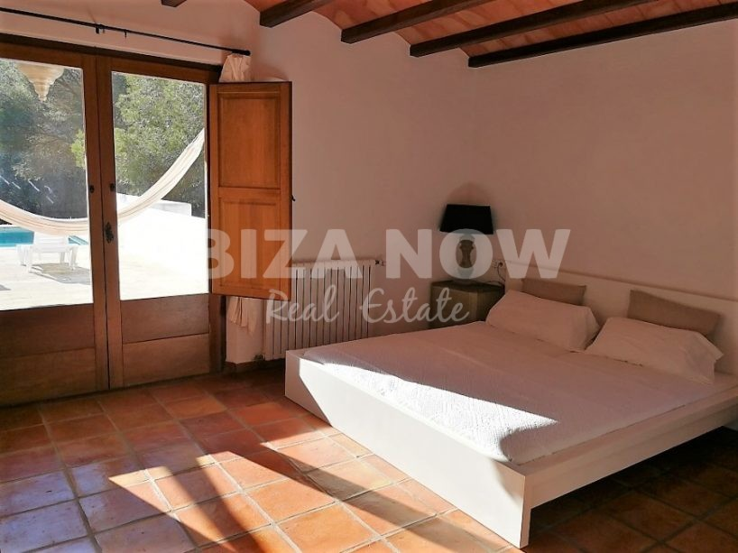 Nice Ibiza style property for sale close to Ibiza Town, Ibiza.