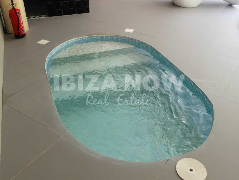 Beautiful large villa under construction for sale in Cala Conta, Ibiza