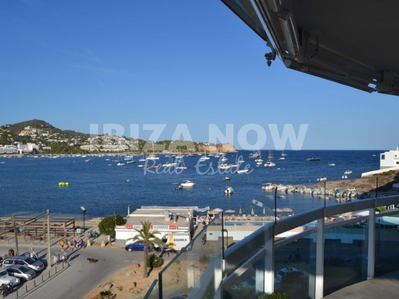 Large 4 bedroom apartment for sale in Talamanca, Ibiza.