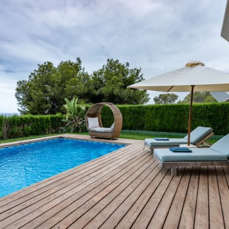 Nice modern house with a valid rental license for sale in Talamanca, Ibiza