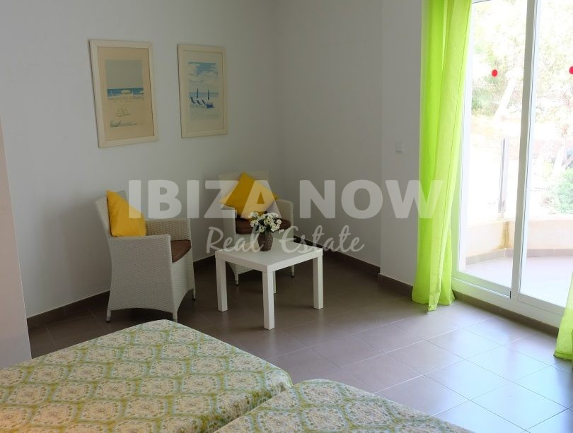 Large 1 bedroom apartment for sale close to the beach of Cala Vadella, Ibiza