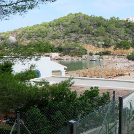 Large 1 bedroom apartment for sale close to the beach of Cala Vadella, Ibiza.