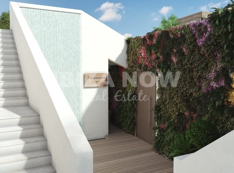 New to build 4 bedrooms modern villa close to Ibiza Town