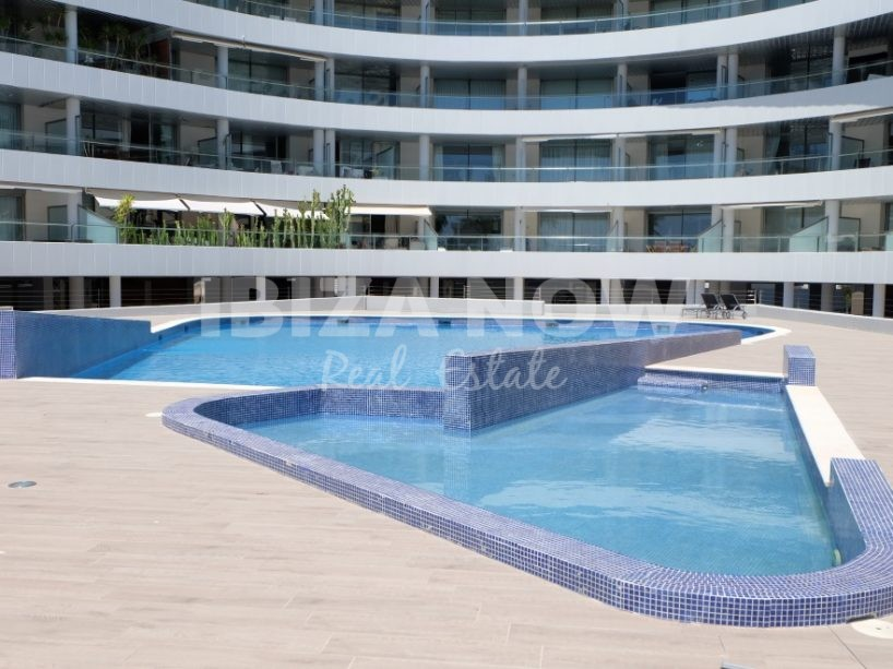 Nice 2 bedroom front line apartments for sale in Marina Botafoc, Ibiza