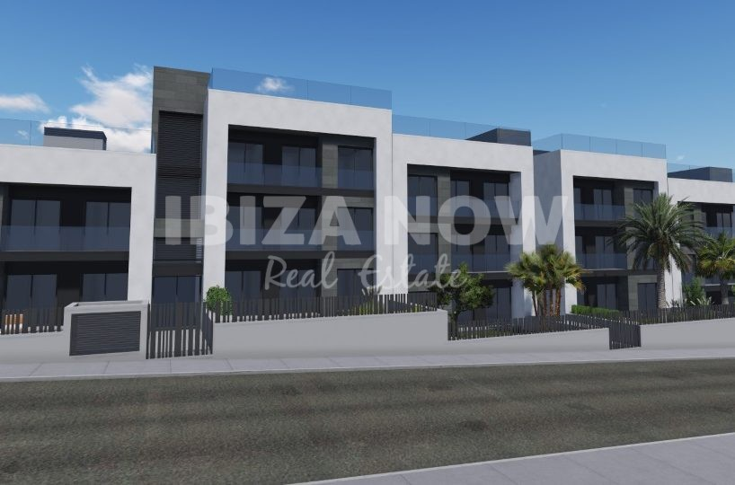 Luxury new built 3 bedroom apartments for sale in Jesus, Ibiza
