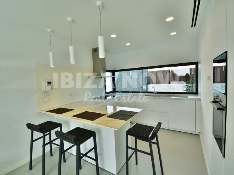 Modern large townhouse for sale in Talamanca, Ibiza