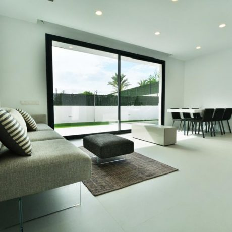 Modern large townhouse for sale in Talamanca, Ibiza.