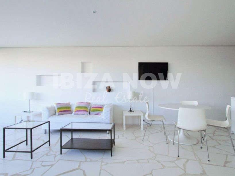 Nice 2 bedroom apartment for sale on the front line of Marina Botafoc, Ibiza