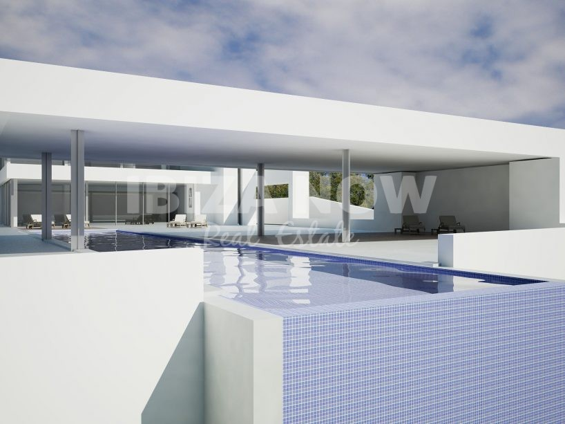 Project to buy in private urbanization in San Jose, Ibiza.