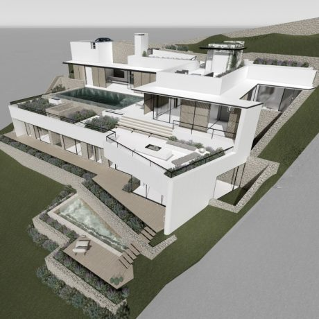 New to built 4 bedroom villa for sale close to Ibiza town, Ibiza.