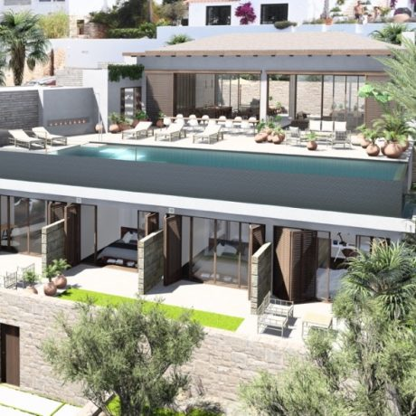 New to built villa in Cap Martinet, Ibiza.