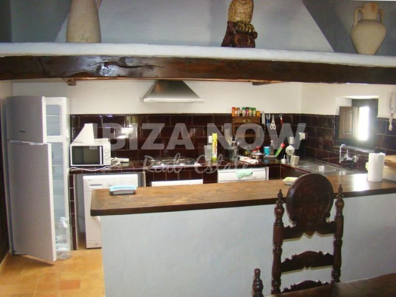 Charming Ibiza style property for sale in San Carlos, Ibiza
