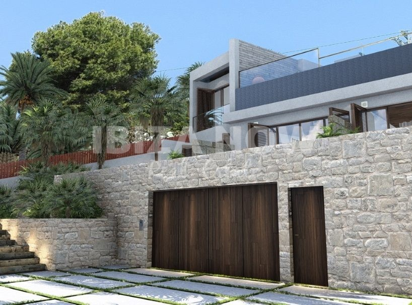 New to built villa in Cap Martinet, Ibiza